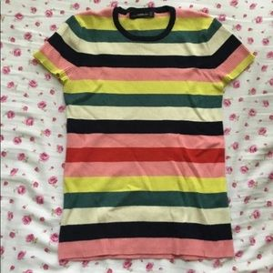 Striped Multicolored Zara T-Shirt
